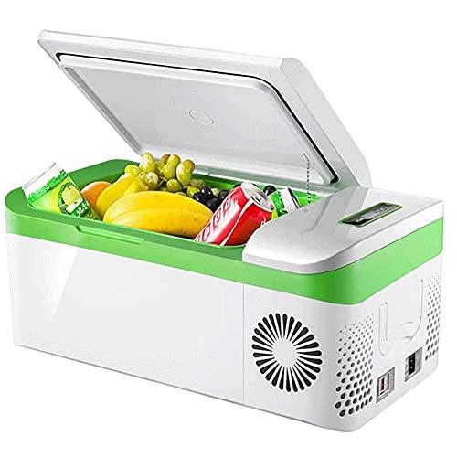 RTOFO Refrigerador de Coches Frigorífico congelador Coche y hogar están Disponibles 12V / 24V / 110-240V -Parteles (Tamaño: 20L)