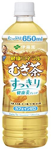 伊藤園 健康ミネラルむぎ茶 すっきり健康麦ブレンド 650ml × 24本