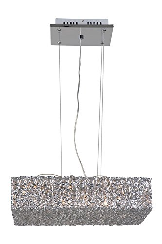 Linea Verdace LV 52064 Plafonnier Pendel Wire 12 x G4 53 x 53 cm
