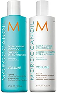 Moroccanoil Extra Volume Shampoo and Conditioner Combo Pack, 250ml Each