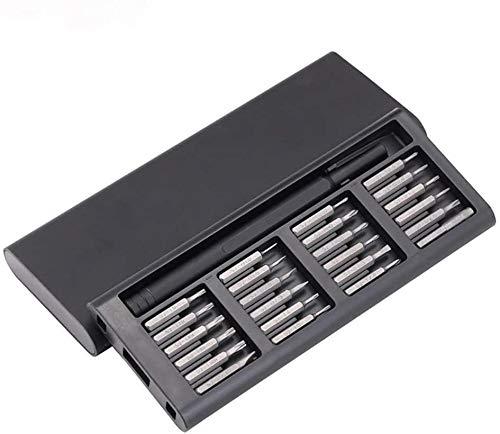 Juego de herramientas magnéticas 25 en 1 Reparación de electrodomésticos Destornilladores Magnetic Craftsman Destornilladores Smartphone Reparar Tool Kit para Fijación, Iphone, Macbook, Relojes, Cámar