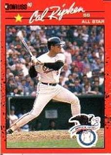 1990 Donruss #676A Cal Ripken AS/All-Star Game/Performance Near Mint/Mint