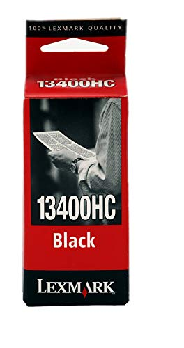 Lexmark Patrone 13400HC wasserresistent Standardkapazität Tinte schwarz 600Seiten ColorJetPrinter 1000/2030/2050/1020/3000