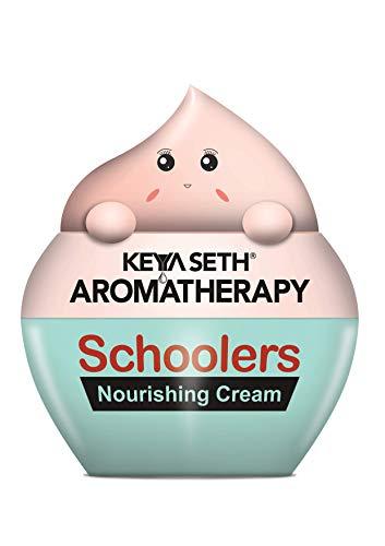 Keya Seth Aromatherapy, Schoolers Nourishing Cream Gentle & Safe, Intensive Moisturizing & Nourishing Ultra-Light for Kids- Hypoallergenic, No Paraben & Sulfates- 50gm