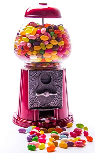 Kauwgom automaat 28 cm rubberen bal automaat spaarpot + 1000 g Jelly Belly Beans 50 soorten mix