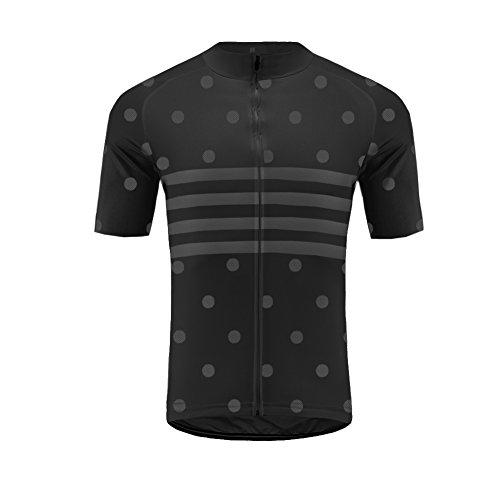 Uglyfrog Damen Fahrradtrikot Kurzarm Team - Radtrikot - Jersey - Fahrradshirt Kurzarm - Radshirt - Bikeshirt MTB mit Taschen - Atmungsaktiv- Schnelltrocknend - Reißverschluss - Reflektoren