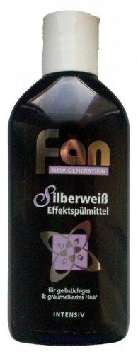 Fan Effektspülung silberweiss 100ml, 4er Pack (4 x 100ml)