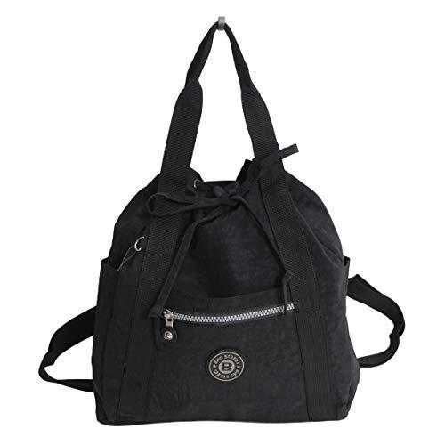 Zaino City ultraleggero di Bag Street – Zaino da donna utilizzabile anche come borsa a mano (colori a scelta) – presentato da ZMOKA®