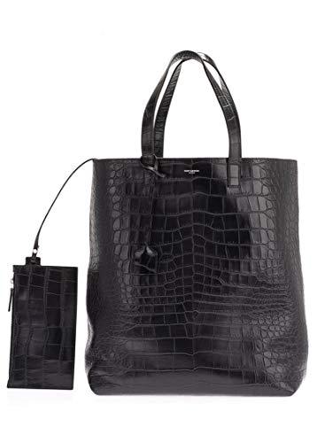 Saint Laurent Luxury Fashion Herren 591747DZE0E1000 Schwarz Tote |