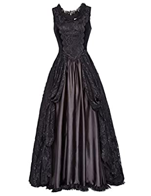 Belle Poque Steampunk Victorian Punk Gothic Dress