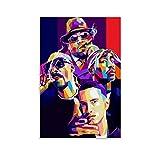 Biggie Eminem 2PAC Tupac Poster Dekorative Malerei Leinwand