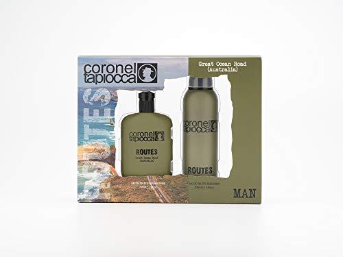 Coronel Tapiocca, Australia Estuche de Regalo para Hombre, Eau de Toilette 75 ml y Desodorante en Spray 200 ml