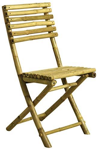 AUBRY GASPARD Chaise Pliante en Bambou