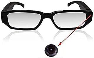 Ugetde 高画質 メガネ型 デジタルビデオ&カメラ microSD対応 HD 1080P 眼鏡型隠しカメラ 録画 防犯 証拠撮影 小型カメラ スパイ 防犯 録画
