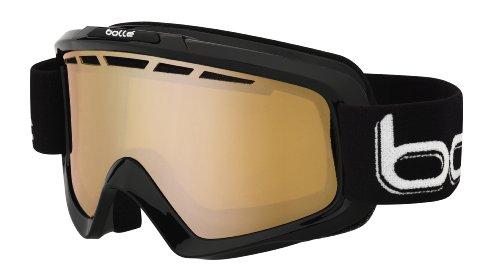 Bollé Erwachsene Goggles Nova II Skibrillen, Matte Black, Medium/Large