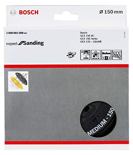 Bosch Professional Multi-Loch Schleifteller (Ø 150 mm, medium, Klett, Zubehör Exzenterschleifer)