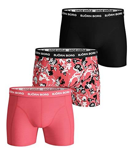 Björn Borg Herren BB Fleur DE Jardin Sammy Shorts Boxershorts, Sugar Coral, S