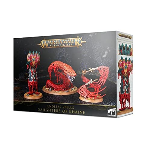 GAMES WORKSHOP 85-22 WARHAMMER AGE OF SIGMAR ENDLESS SPELL DAUGHTERS OF KHAINE