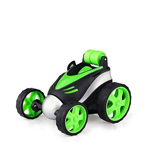 Poooc Coche teledirigido RC Stunt Car con 360 ° de rotación de los Rolling regalos Jardín Interactivo juguete giratorio de vehículo Mini Racing Stunt Racing vehículo de aprendizaje Juguetes cubierta a