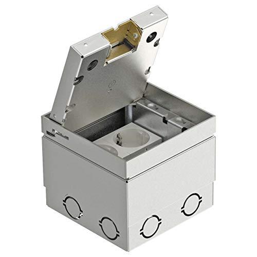 obo-bettermann Automatischer canaliz. Boden–Einheit portamecanismo 125x 125x 110mm VA