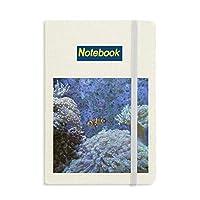 海洋サンゴクマノミ自然科学写真 ノートブッククラシックジャーナル日記A 5