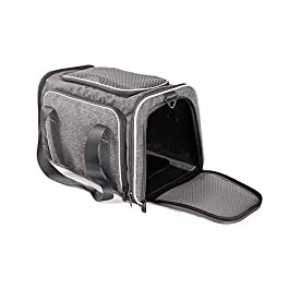 Petsfit Pet Expandable Carrier with One Extension