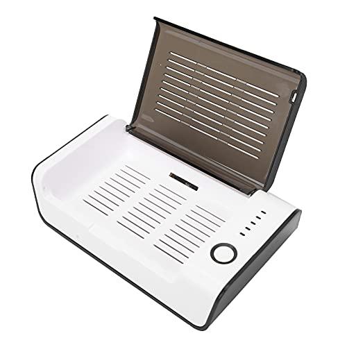 Caja de secado para audífonos, deshumidificador de amplificador auditivo a prueba de humedad USB portátil eléctrico, estuche de secado de 2 modos Limpiador de audífonos con luz ultravioleta