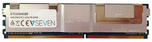 V7 V753004GBF Server DDR2 DIMM Arbeitsspeicher 4GB (667MHZ, CL5, PC2-5300, 240pin, 1.8 Volt, Fully Buffered)