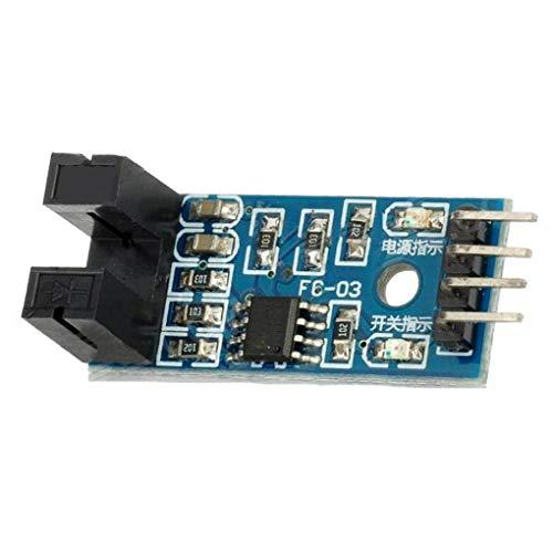 ZYElroy Slot Typ IR Optokoppler Speed Sensor-Modul LM393 für Arduino