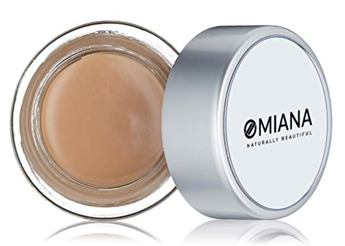 Omiana Redness Concealer Cream - Cover Up Makeup for Blemishes, Dark Circles and Wrinkles | Titanium Dioxide Free | Made in the USA