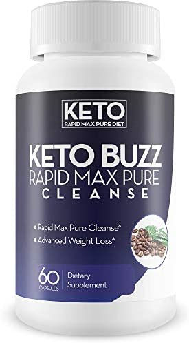 Keto Buzz Rapid Max Pure Cleanse Cleansing Digestive Support Kickstart Ketosis by Removing Carbs product image