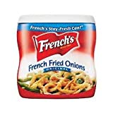 FRENCH'S FRENCH FRIED ONION TOPPERS 2.8 OZ EACH (1)