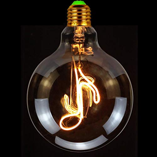 Tianfan Led-gloeilamp, vintage, 4 watt, Edison lamp, decoratieve hanglamp, 220/240 volt, super warm