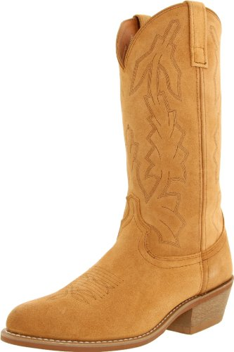 Laredo Mens Jacksonville Round Toe Western Cowboy Boots Mid Calf - Brown - Size 10.5 D