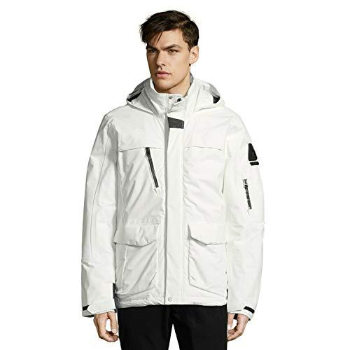 Gaastra Herren MW Rushline Jacke, Weiß (Off White W001), XXX-Large