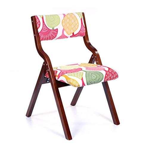 Chaises, Chaises pliantes, sièges arrière, étudiants petites et simples tabourets, chaises portables, 10 couleurs en option (Color : B)