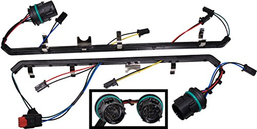 Price comparison product image APDTY 140051 Fuel Injection Injector Wire Wiring Harness Left & Right Fits 6.4L Diesel Engine On 2008-2010 Ford F250 F350 F450 F550 or International (Replaces 8C3Z-9D930-AA,  8C3Z-9D930-BA,  9D930)