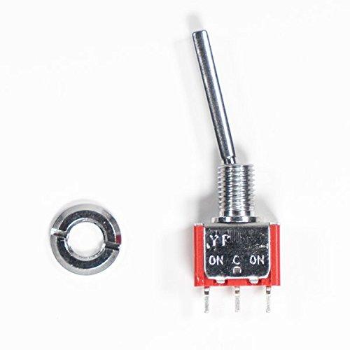 HELEISH Frsky Taranis Q X7 Transmisor Pieza de repuesto de una posición a largo Interruptor de palanca for RC Drone FPV Racing Piezas de montaje de bricolaje