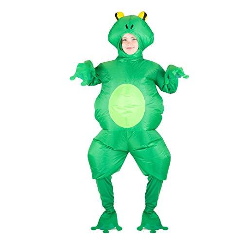 Bodysocks Opblaasbare Kikker Kostuum (Kinderen)