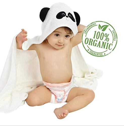 Toalla de bambú con capucha para bebé