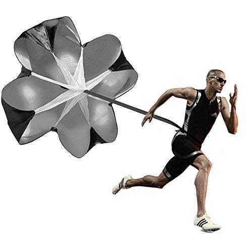 Power Chute Speed Training - Running Parachute Resistance Trainer - Branded Aminori with Warranty