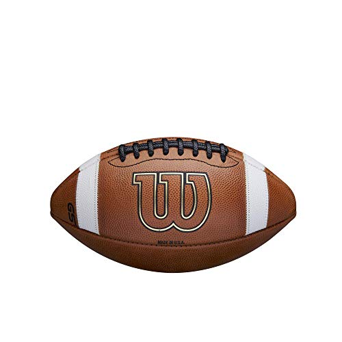 Wilson GST Leather Game Football - Junior