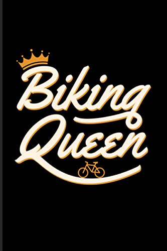 Biking Queen: 2021 Planner | Weekly & Monthly Pocket Calendar | 6x9 Softcover Organizer | Funny Cycling & MTB Gift