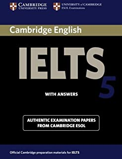 Cambridge IELTS 5 Student's Book with Answers (IELTS Practice Tests) by Cambridge ESOL(2006-06-12)