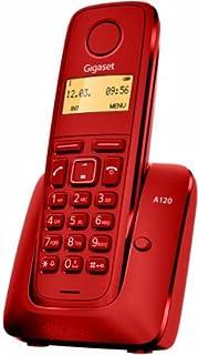 Gigaset A120 - Teléfono Inalámbrico, Agenda de 50