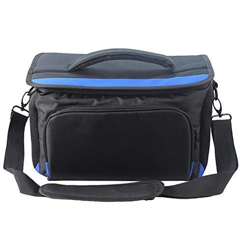 Kikier Werkzeugtasche für Faser-Fusion-Splicer, Werkzeugtasche Faser-Fusion-Splicer-Tasche, verschleißfest, wasserdicht, schlagfest, schwarz