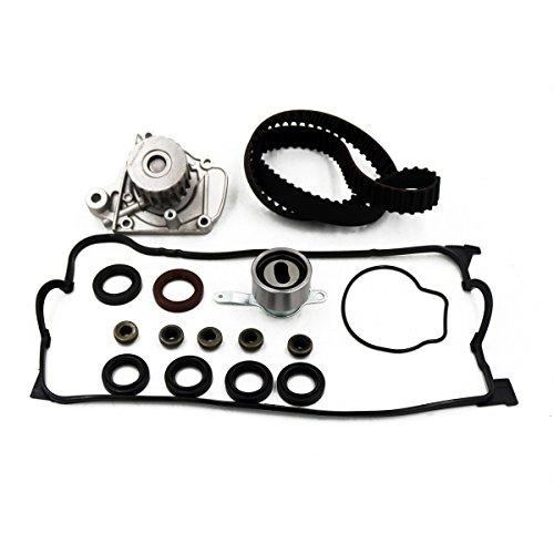 Timing Belt Water Pump Fit 96-00 Honda Civic/Civic del Sol Valve Cover Gasket Kit w/Grommets D16Y7 D16Y8 16v