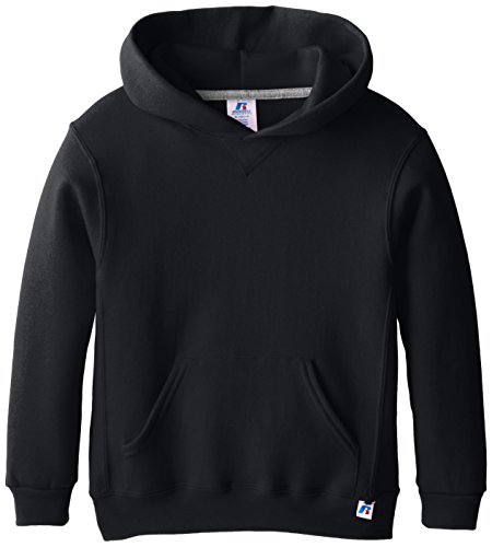 Russell Athletic Athletic Big Boys' Fleece Crew, Hoodie-black, L
