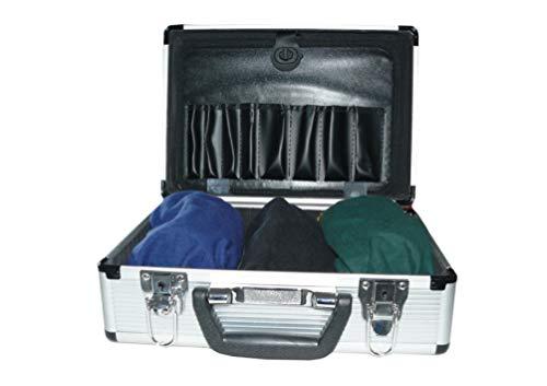 ORIGINAL ALCOVISTA ® Rauschbrillen, Aluminium Koffer mit 3 AlKoholBrillen