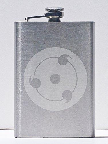 Original Sharingan - Naruto - 8 Ounce Stainless Steel Flask